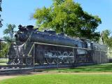 Railroad Engine in Centennial Park