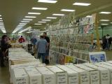 Rows of Comics and collectiables