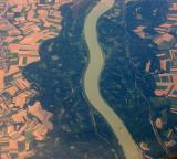 Danube from the air