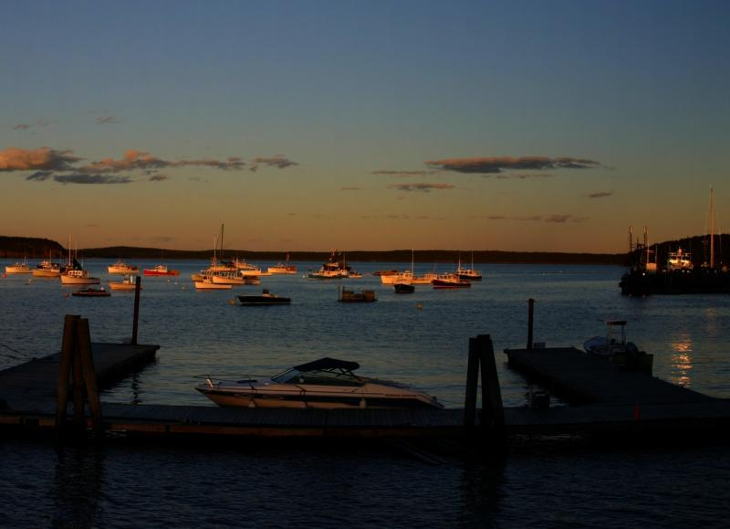 Sunset on Frenchmans Bay