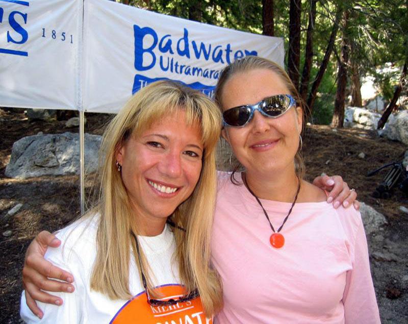 Lisa & Leah at the finish