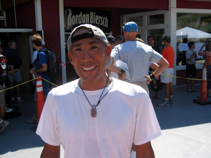Glenn Tachiyama, part of Scott Jureks crew team for the second year