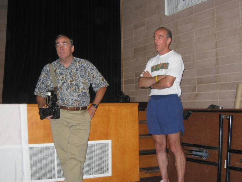 Badwater photographers: Dave Remington on the right