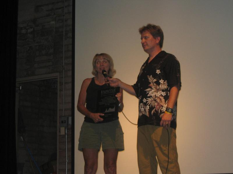 Jeannie Ennis gets inducted into the Badwater Hall of Fame