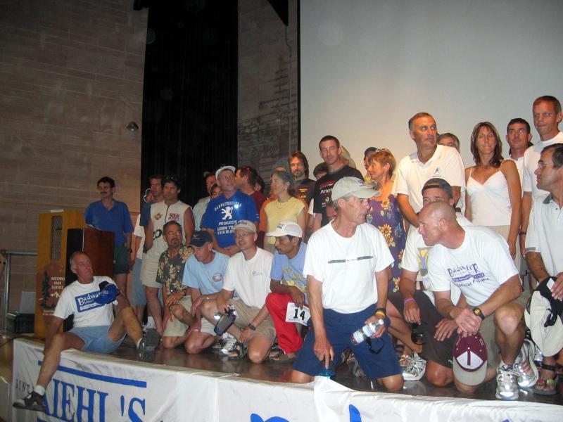 The 2005 runner line-up