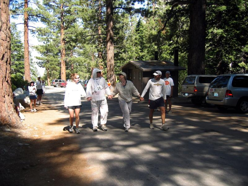 Scott Weber (#10) finishes his 10th Badwater in 57:42.