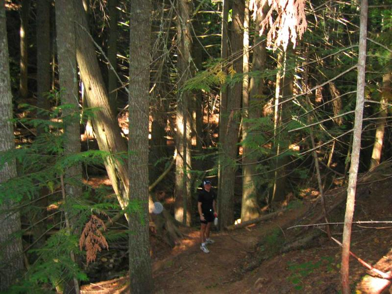 trail before the switchbacks