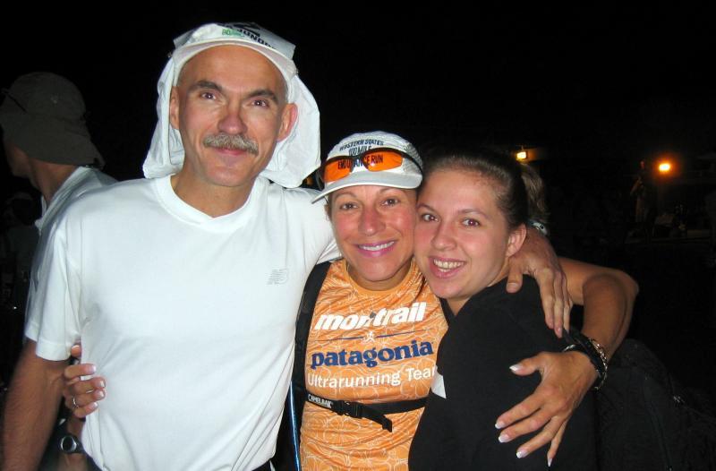 Larry Hall, Beth Simpson & Larrys daughter
