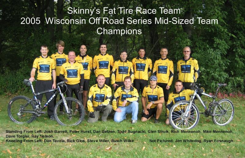 Skinnys Fat Tire Race Team