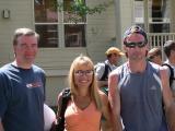 David & Lisa and pacer Dave Bursler