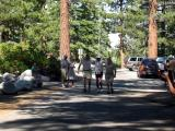 Andrew Elder, Badwater rookie, approaches the finish.