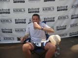 Badwater rookie finisher Andrew Elder gets a Murphys too