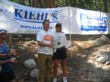 From the first finisher till the last, Chris Kostman is present for every one.