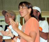 Judit Pallos, 2005's youngest Badwater entrant, finished 3rd place female in 39:33.