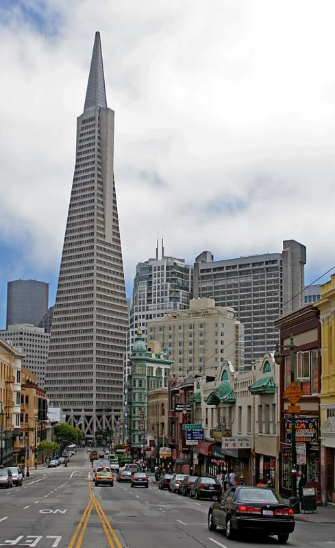 19 July - the Transamerica tower