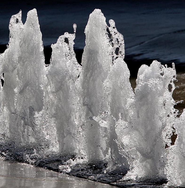 Fountain in SLC