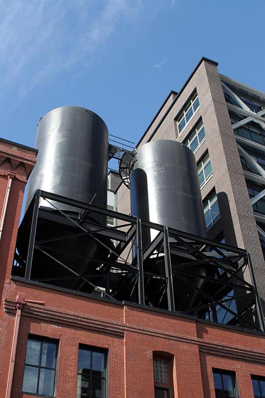 Rooftop tanks