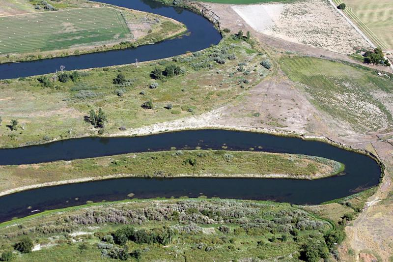 Bendy river (Yakima)