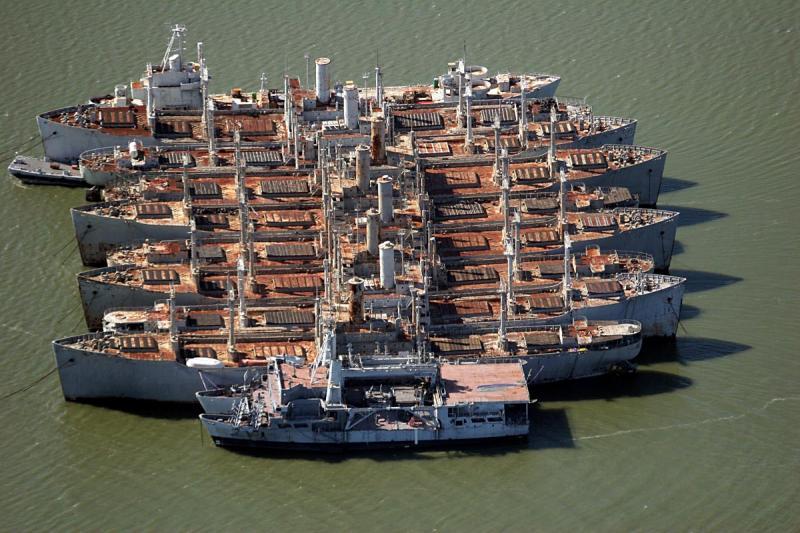 Mothballed ships - San Francisco