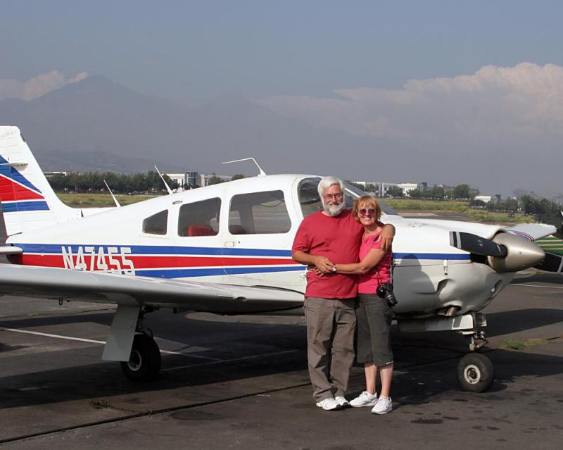 15 August - Sue and I return the aircraft to ADP at Bracket la Verne
