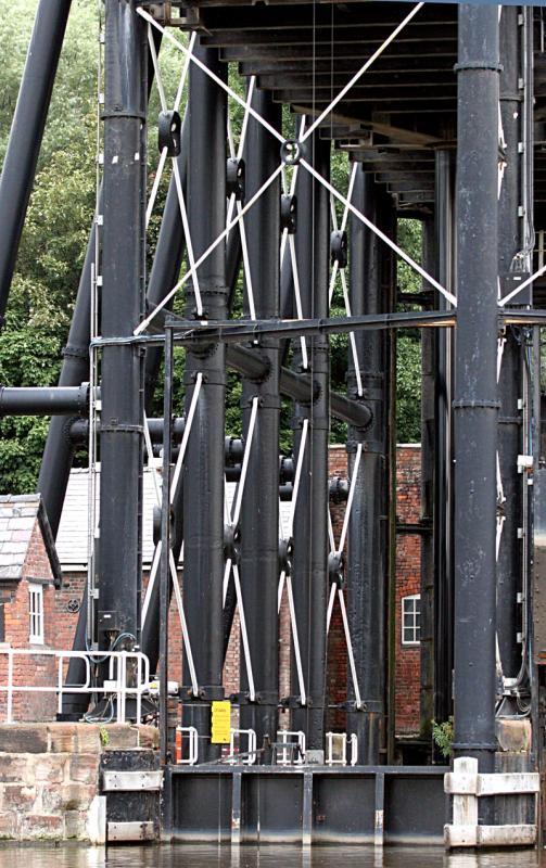 Boat lift framework