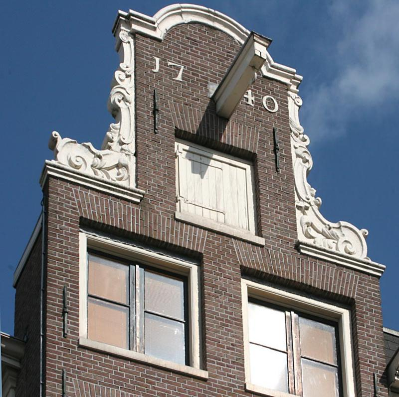 Amsterdams architecture - the gable