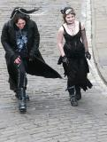 Two goths in Whitby