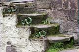 Steps of an old house