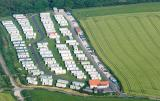 Caravans and field near Whitby