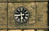 Village church clock