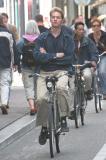 Laid back cyclist