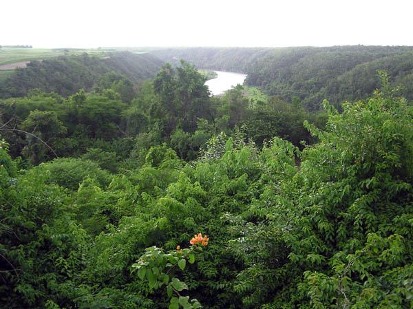 View of Rio de Chavon