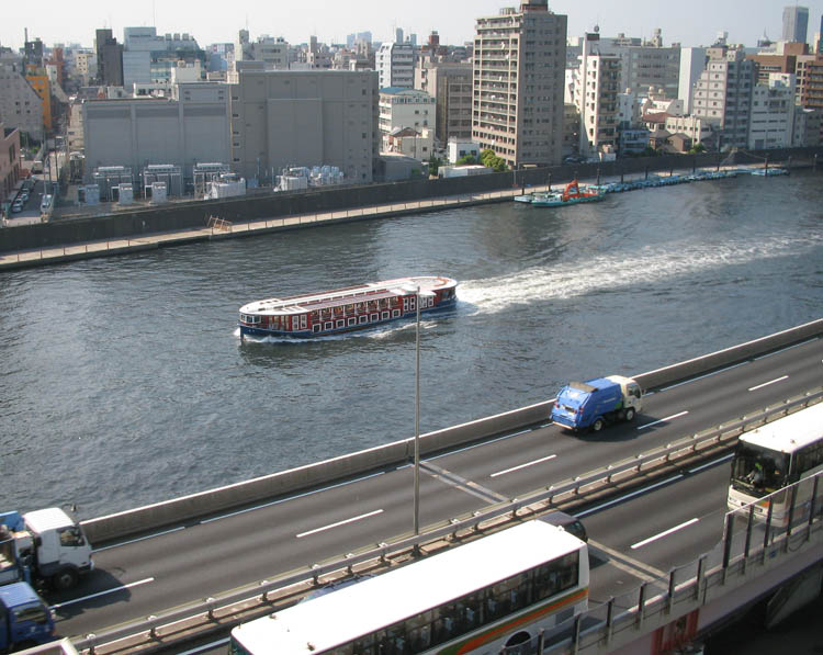 Boats of Sumida River
