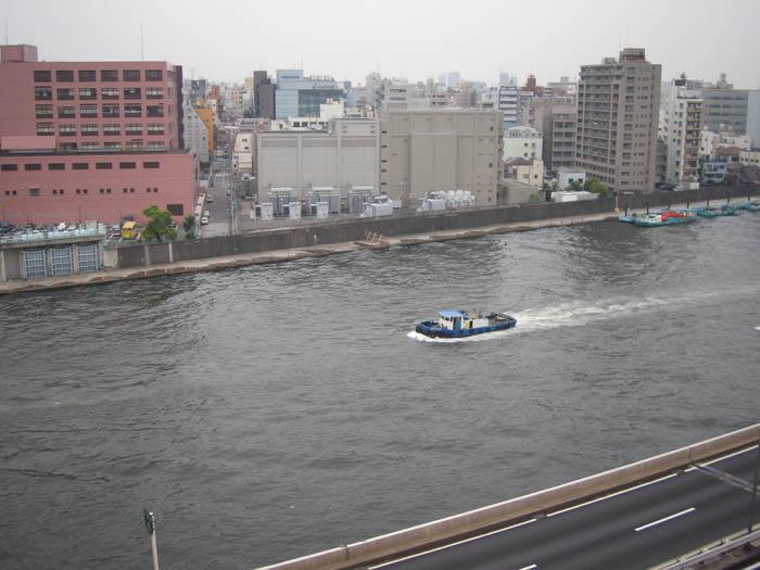 Boats of Sumida River