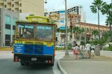 Trolley in Tumon shopping district
