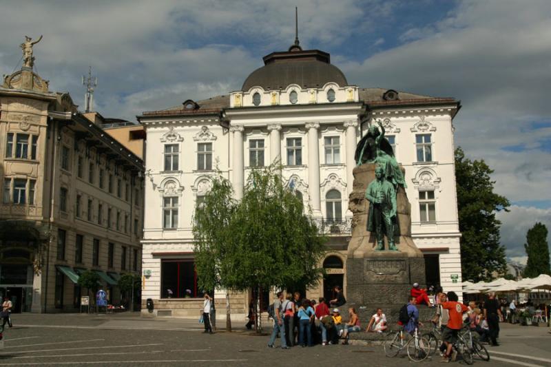 Ljubljana - Preseren Square