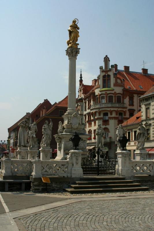 Maribor - Plague Monument