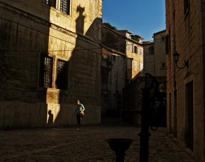 Shadows of the past, Kotor Town, Montenegro, 2005