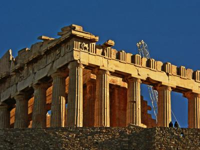 The Parthenon, Athens, Greece, 2005