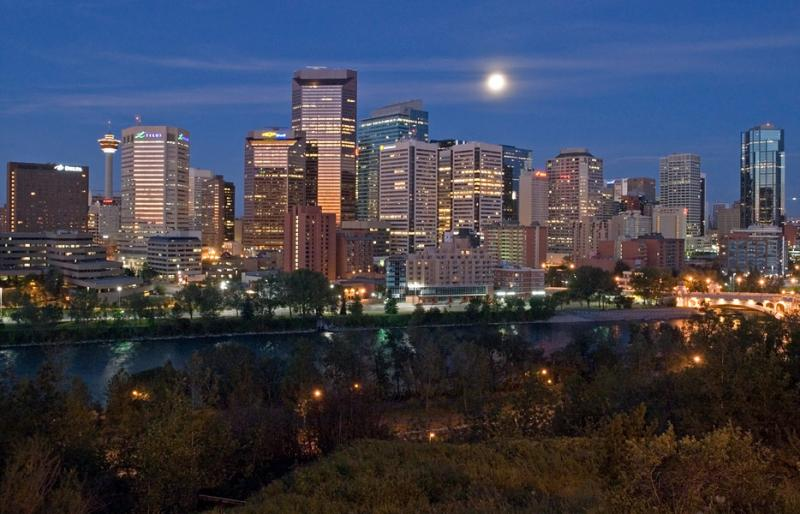 Calgary Early Morning