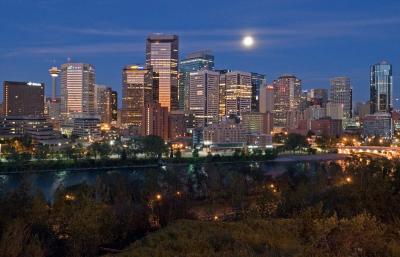 Calgary Early Morning
