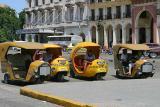Cocotaxis en La Habana
