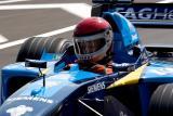 Carl Cunanan takes the wheel