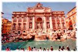 Trevi Fountain, Roma, Italia