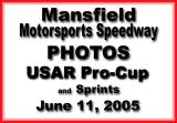 June 11, 2005 Mansfield Speedway USAR Pro-Cup