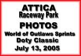 July 13, 2005 Attica WoO-Doty Classic
