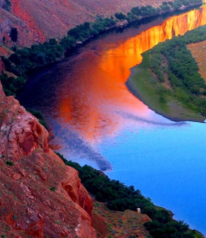 le Colorado au Glenn canyon
