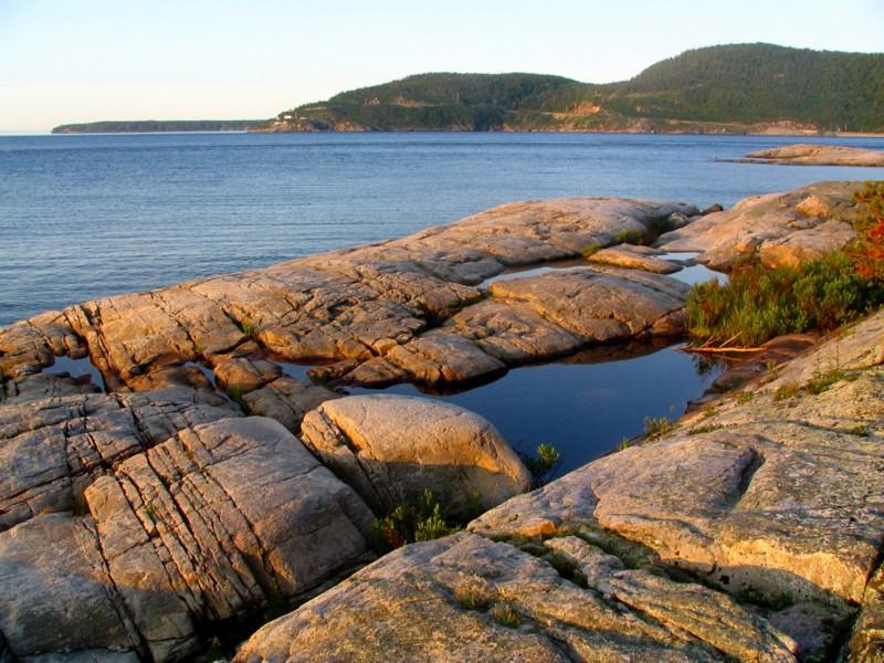 Tadoussac,  lentrée du fjord