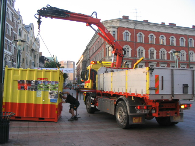 House Moving (Malmo-Sweden)