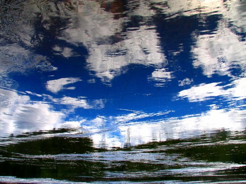 les nuages et le ciel